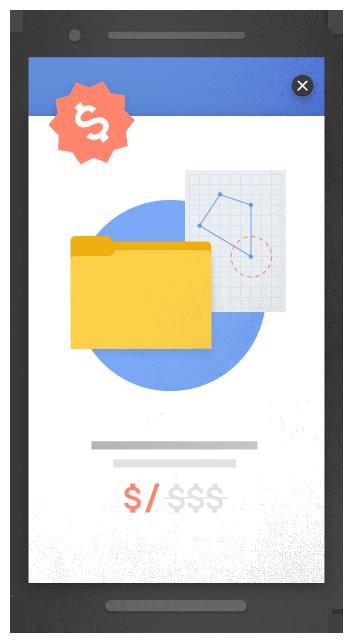 Anuncio Intersticial, imagen de Google
